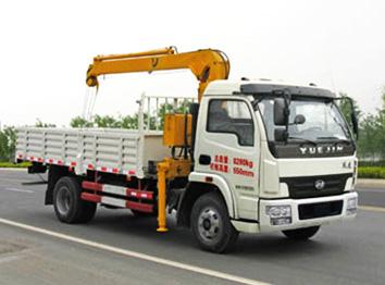 跃进国四CLW5080JSQN4型随车起重运输车