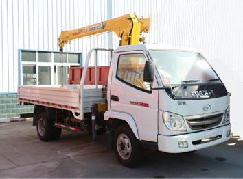 唐骏欧铃(2吨)蓝牌(单排)起重运输车