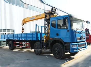 东风EQ5250JSQGZ4D1型12吨随车起重运输车
