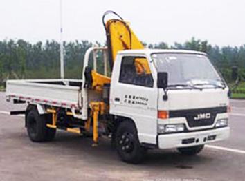 徐工单排(国四3.2吨)江铃随车起重运输车