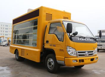 福田BJ5043XXC-B1型LED广告宣传车