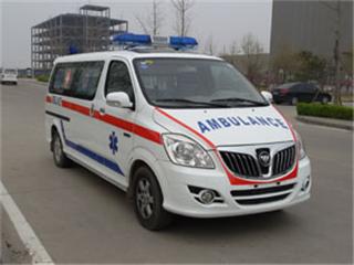 福田蒙派克E运输型救护车