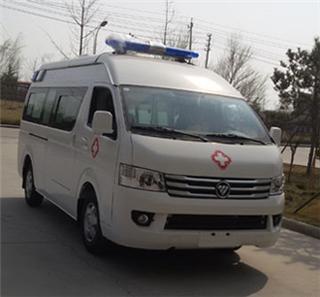 国五福田风景G9运输型救护车
