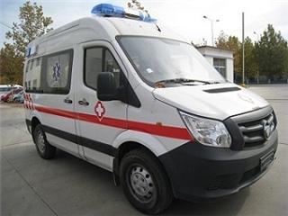 国五福田图雅诺E运输型救护车