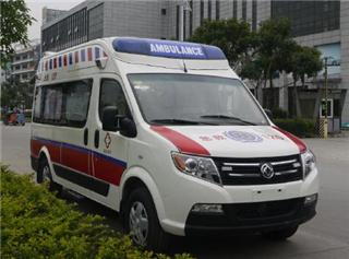 国五东风御风长轴运输型救护车